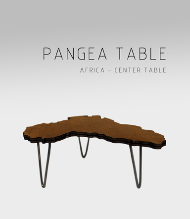 Table Pangea África Adidea Design