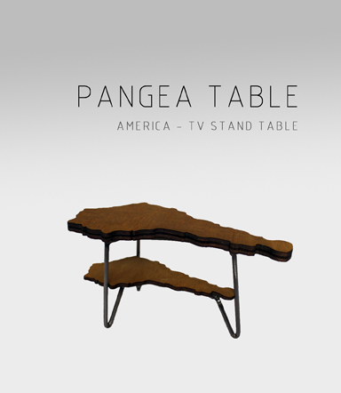 Table Pangea América Adidea Design