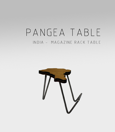 Mesa Pangea India Adidea Design Patricia Alonso