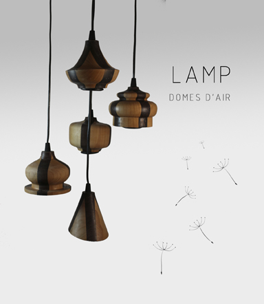 Domes d'Air Lamp Patricia Alonso by Adidea Design