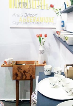 Adidea design Avec Flamenco Abceramique Paris